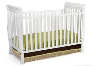 2 n 1 White Crib