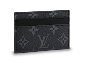 Men's Louis Vuitton Monogram Eclipse Card Holder