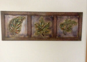 3 Dimensional Metal Wall Art Picture, Ready To Hang - St. Thomas