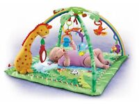 fisher price rain forrest play mat gym