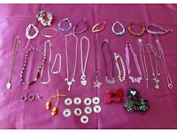 Large Selection of Jewellery suitable for Girls