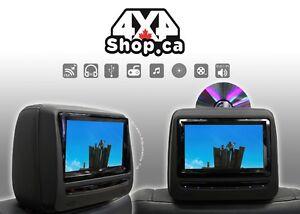 "2X7"" Tilt screen Car DVD plalyer Headrest on sale"