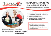 Personal Training for 50 Plus & Seniors