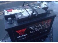 BRAND NEW HEAVY DUTY CAR/VAN BATTERY FULLY CHARGED & READY TO GO