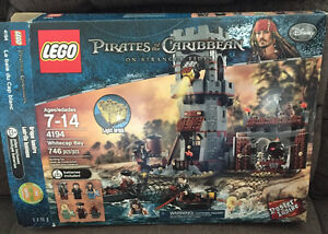 Pirates of the Caribbean Lego-retired