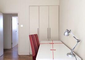 IKEA White Table Matt Gloss - L175xD75xH73 - HOUSE RENOVATION CLEARANCE - SW1V 3DW