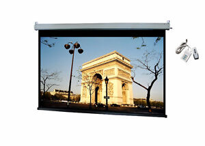 Motorized and Portable Projector Screens for sale