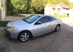 2003 Honda Accord Coupe EX-L loaded with leather London Ontario image 1