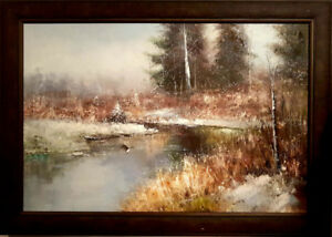 Large Oil Painting - Like New
