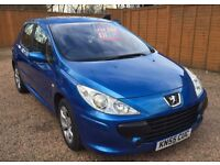 Peugeot 307 1.6HDi 110bhp 2005 DIESEL MANUAL MY S