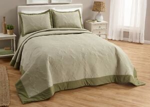 Pinsonic Bedspread King Sage, New