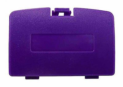 (New GRAPE PURPLE Battery Cover for Game Boy Color System - GBC Replacement Door)