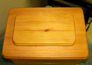 handmade pet cremation box - new price