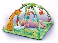 Fisher-Price Rainforest Music & Lights Deluxe Gym £20
