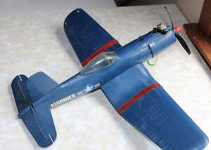 Cox Corsair Airplane Toy Control Line Vintage RC Corsair Plane