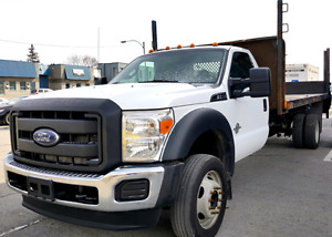2011 Ford F550 **Diesel**Plateforme**Tommy Gate**
