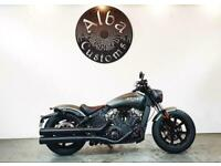 2021 Indian MOTORCYCLE SCOUT BOBBER COLOUR