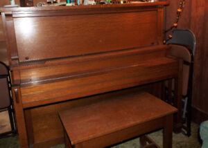 Antique Gourlay Upright Piano 1920's