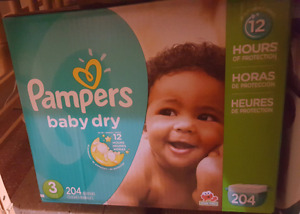 Pampers baby dry  trade for enfamil or similac formula