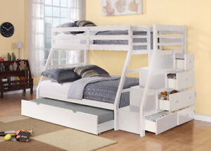 SOLID WOOD BUNK BEDS FOR VERY LOW PRICES IN TOWN TAX FREE WEEK