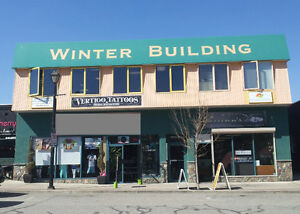 Salmon Arm - Lease Retail or Office Suites, Downtown Core