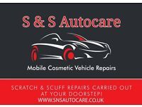 S&S Autocare Mobile Car Body Repairs Edinburgh bumper repairs