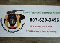 Behind The Wheel Driving School Academy inc - Thunder Bay, Ont.