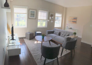 Fully Furnished Townhouse Short Term Walking to DT Kitchener
