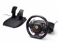 Ferrari F458 Italia Steering wheel + pedals