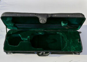 Brand New Deluxe Oblong Wooden 4/4 Violin Case – 70.00
