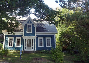 Heritage home in Bear River, NS