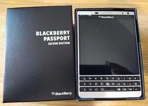Silver Edition Blackberry Passport, Brand New, Sealed, Unlocked