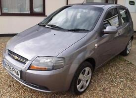 Chevrolet Kalos 1.2 SE A/C 5 dr. GUARANTEED FINANCE payment between £19-£38PW