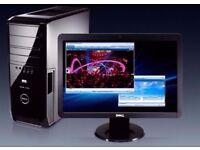 Dell XPS 420 Quad Core Gaming PC Full Computer 2.4ghz 500GB 8GB Windows 10 WIFI 30DayWarranty