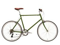 Like new 53cm (S) Tokyobike - moss green - MSRP £650 - reasonable offers accepted