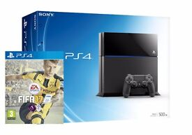 Brand new PS4 500gb and Fifa 17