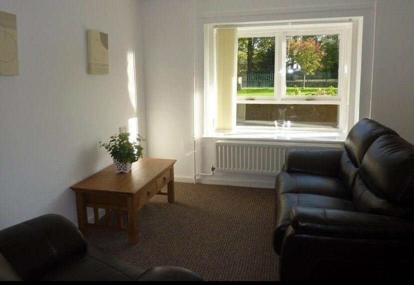 One bedroom flat, wylam 395pcm.