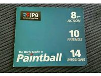 £600 20x IPG International Paintball Group Tickets Stag/Hen/Birthday Day Out ☆ Can Post ☆
