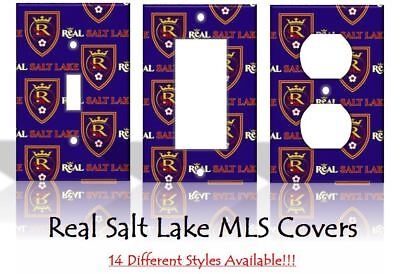 Real Salt Lake MLS Soccer Light Switch Covers Home Decor Outlet