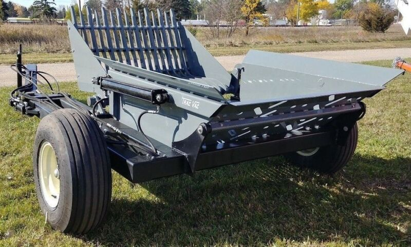 New Trac Vac Rock Picker Hydraulic Pull Type
