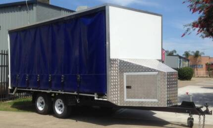 New Curtain Sider Cargo Trailers Penrith Penrith Area Preview