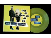 The Ting Tings ‎– Shut Up And Let Me Go, 7 inch single on yellow vinyl released ‎in 2008, Indie Rock