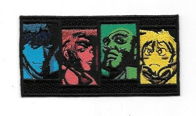 d89dc0f5d Cowboy Bebop Japanese Anime' Main Character Faces Embroidered Patch NEW  UNUSED