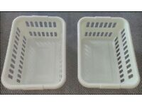 2 x Laundry Basket