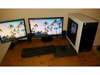 Ultra Fast Quad-core Gaming PC Bundle