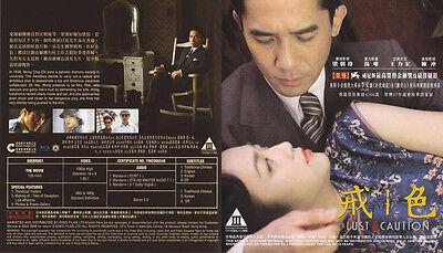 Lust, Caution Blu-ray Region A Tony Leung Ka Fai Tang Wei