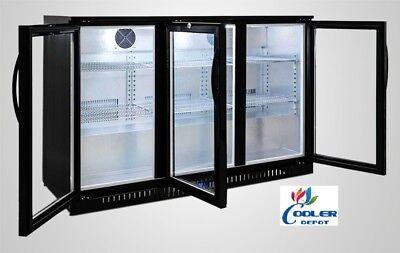 New Back Bar Cooler Bb3 Glass Door Commercial Beer Bottle Case Refrigerator Nsf