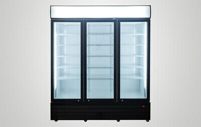 Refrigerator 3 Door Cooler Glass Door Nsf Commercial Store Supermarket Liquor