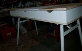 A brand new stylish 2 tone large desk /dressing table.