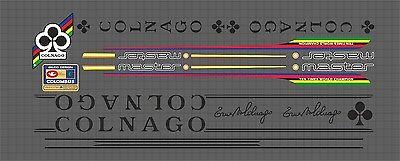 Colnago Master Contour Chain Guard Decal sku Coln510